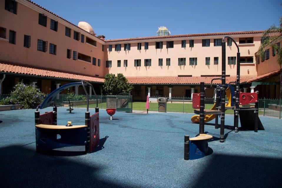 Father Joe's Courtyard