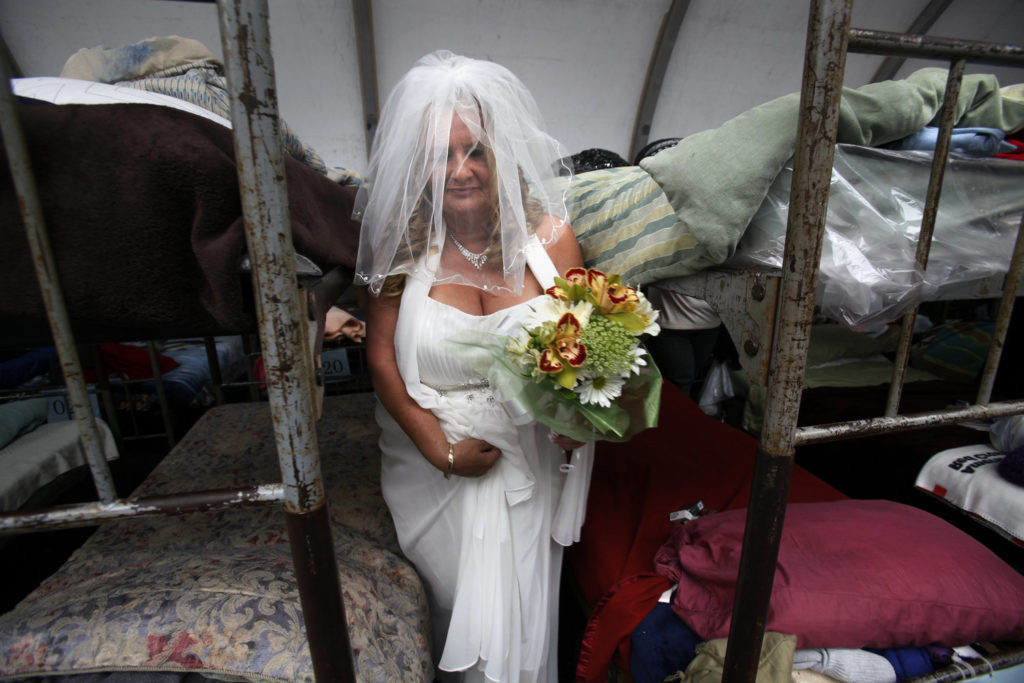 Shelter Wedding Homeless Wedding