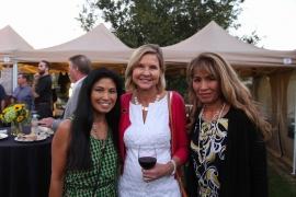 Lori Walton (wife of Bill Walton), Virginia Tinley, and Lori's sister copy
