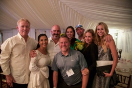 Mark and Jamie Kotsay, Bill and Karla Banning, Vanessa and Owen Mossy, and Bob and Anne Kimmel copy
